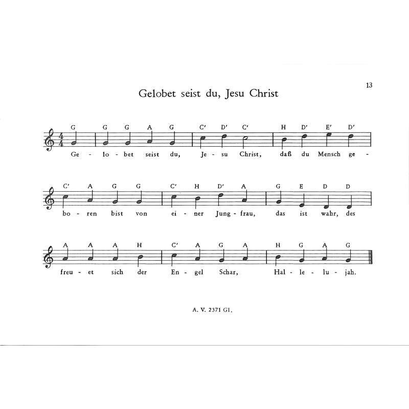 Glockenspiel Weihnachtslieder Noten Kostenlos.Melodien Fuer Das Glockenspiel 3 Weihnachtslieder Von Niemann R