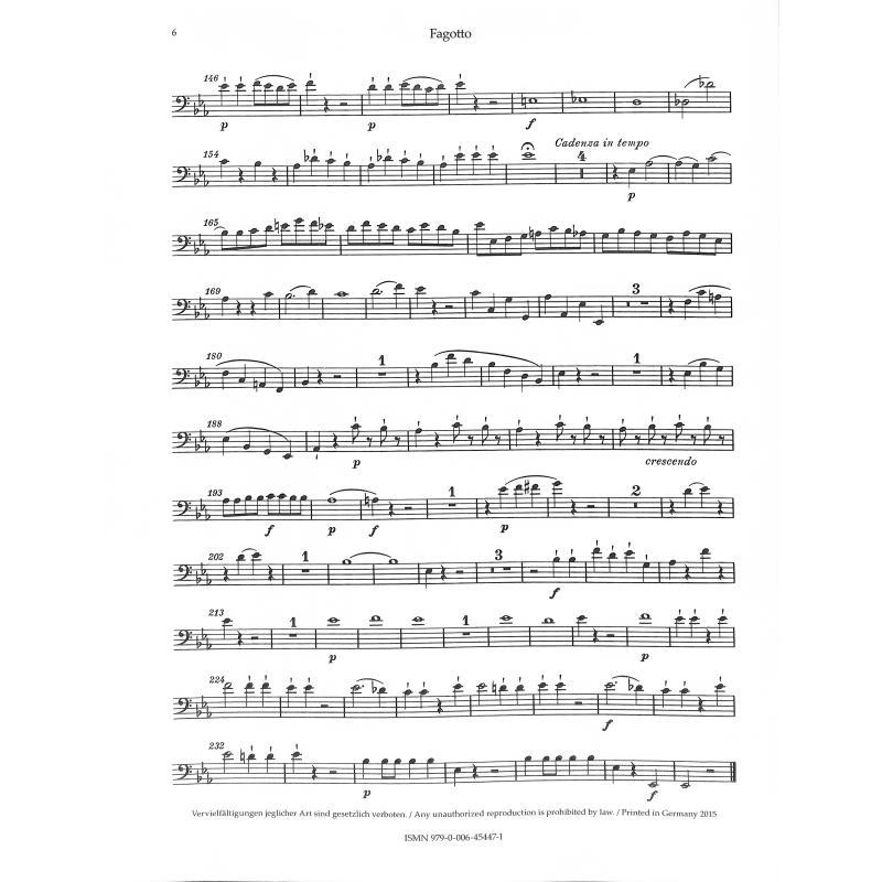 quintett es dur kv 452 ob klar hrn fag klav oboe klarinette horn fagott klavier