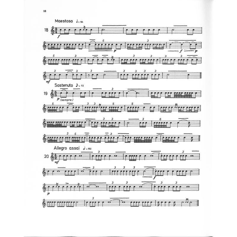 STUDIEN FUER KLEINE TROMMEL 5 - DER WIRBEL - von Fink Siegfried - EE ...