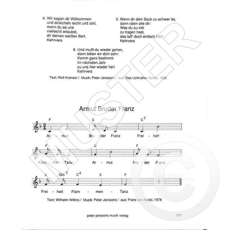 Meine Lieder Von Janssens Peter Janssens 1406 02 Noten