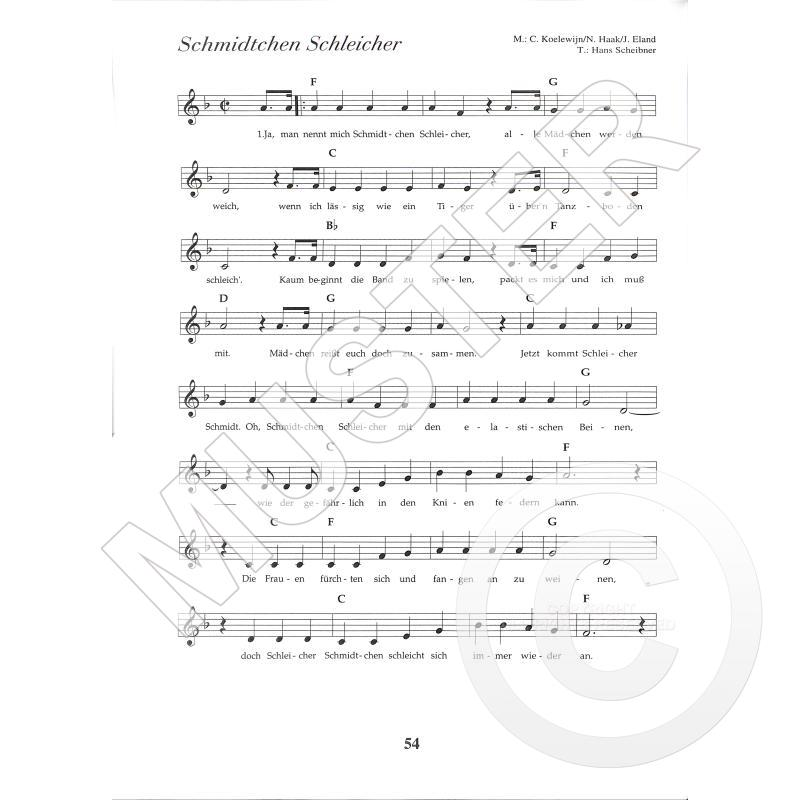 100 Gute Laune Songs Von Krepp Frithjof Leu 53 4 Noten