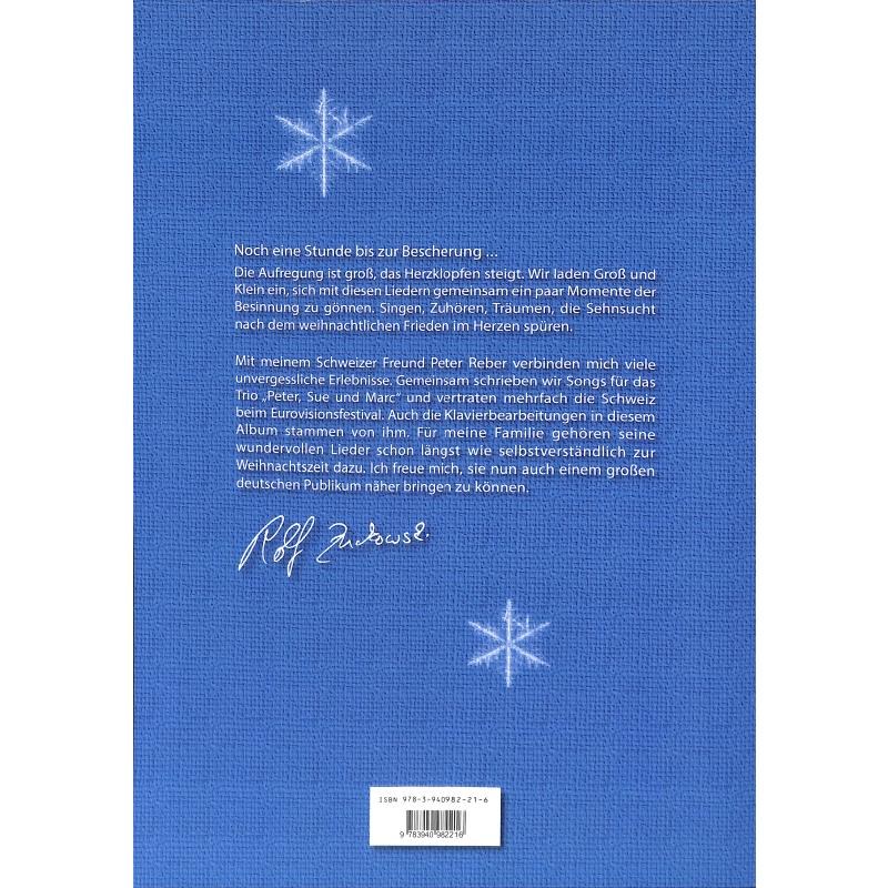 Rolf Zuckowski Weihnachtslieder Texte.Sehnsucht Nach Weihnachten