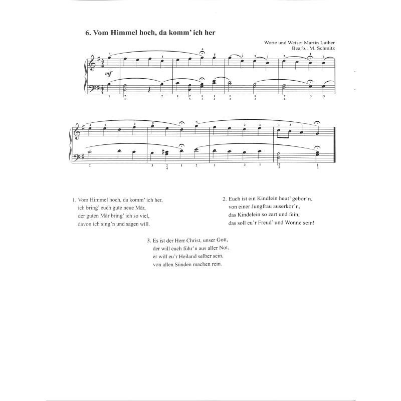 Gute Weihnachtslieder.Die Schoensten Weihnachtslieder Von Schmitz Manfred Conbrio 1056