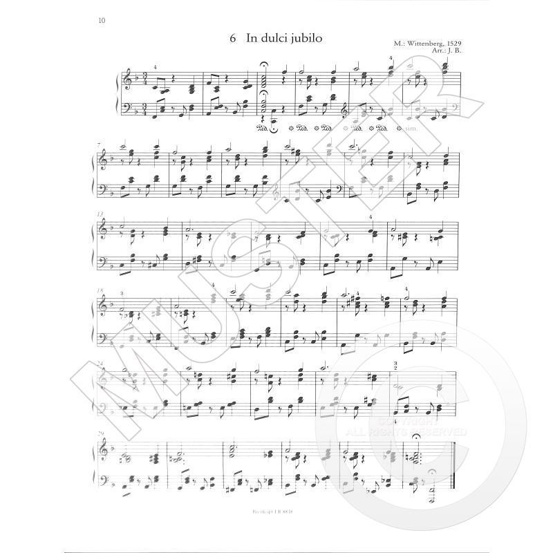 Weihnachtslieder Jazz Noten.Jazzy Xmas 20 Weihnachtslieder Im Jazz Gewand Von Borstelmann