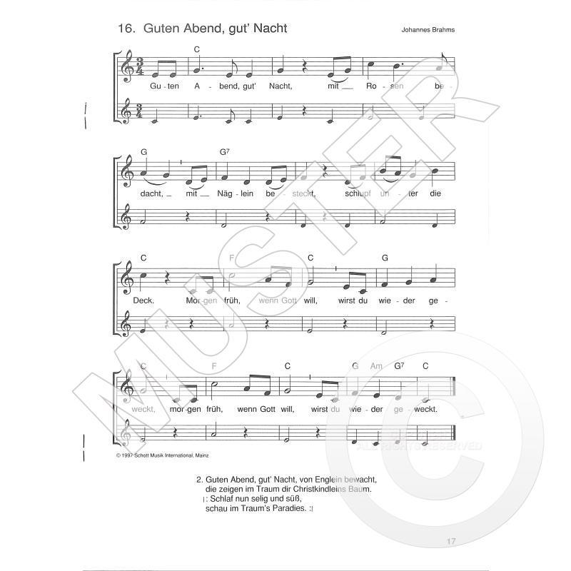 /& Kinderlieder Sopranblockflöte SCHOTT ED 8766 Die schönsten Volks