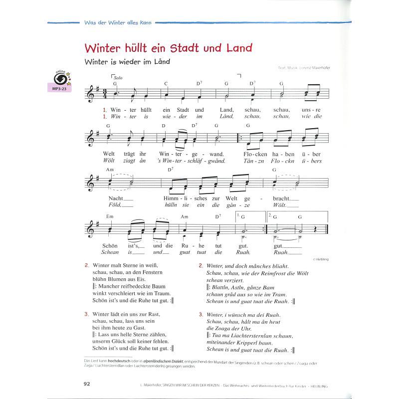 Singen Wir Im Schein Der Kerzen Von Maierhofer Lorenz Helbl