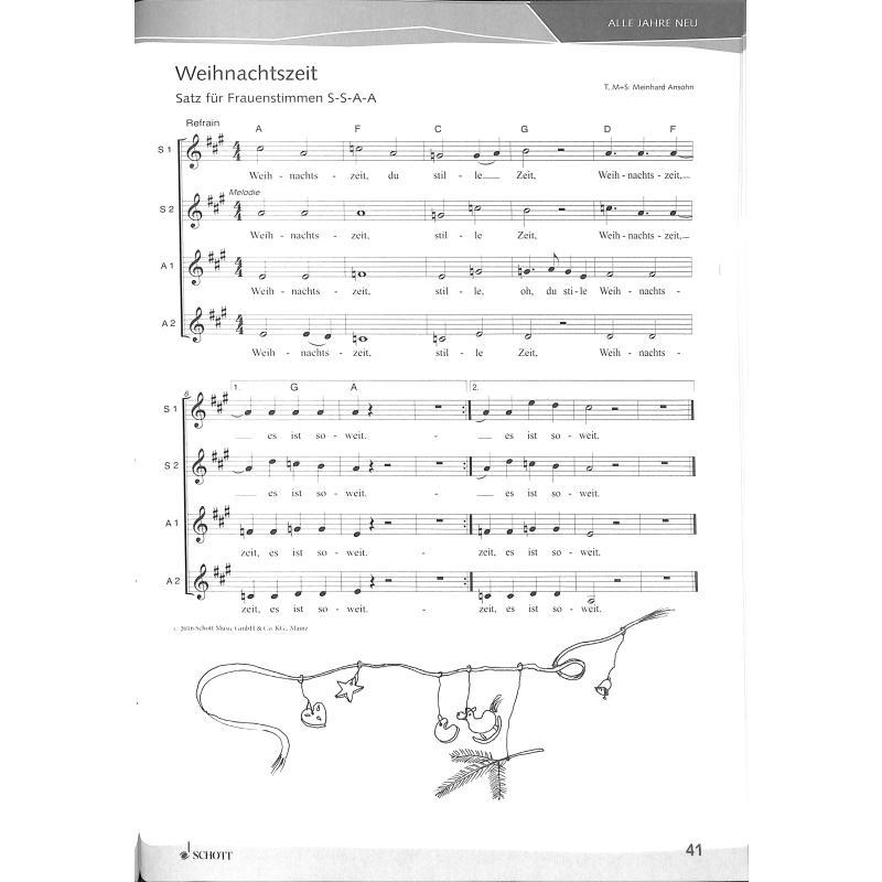 Weihnachtslieder Alphabetisch.Weihnachtslieder Alle Jahre Neu Von Ansohn Meinhard Ed 22686