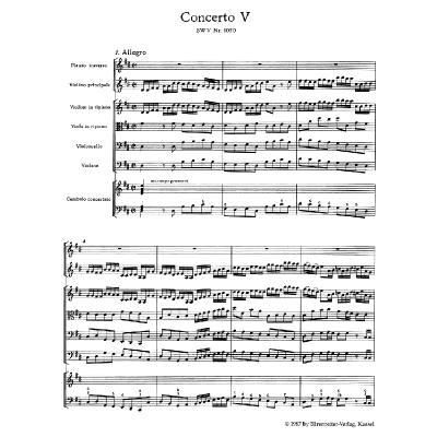 Brandenburgische Konzerte 1-6 BWV 1046-1051
