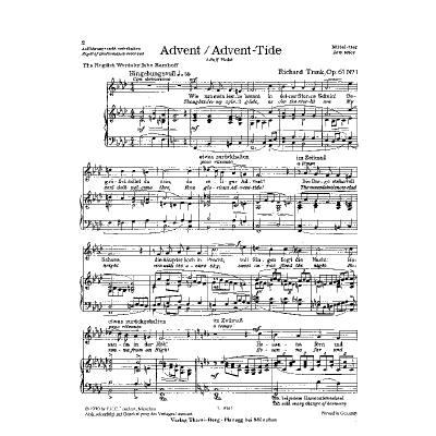 Weihnachtslieder Klavier Pdf.Weihnachtslieder Op 61