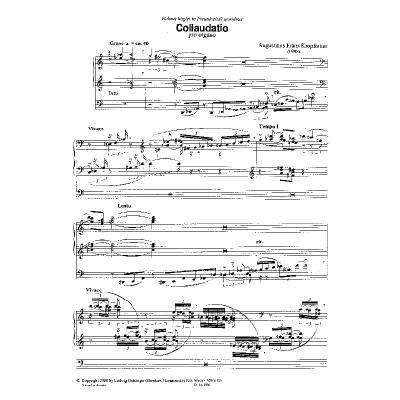 collaudatio-pro-organo