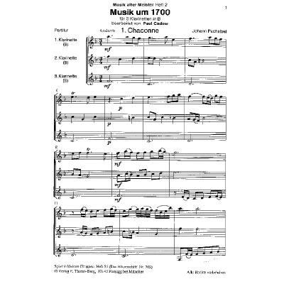 MUSIK UM 1700 - MUSIK ALTER MEISTER 2