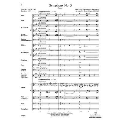 Sinfonie 5 e-moll op 64 - Finale