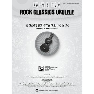 Just for fun - Rock classics ukulele