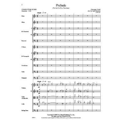 Prelude (aus La Traviata)