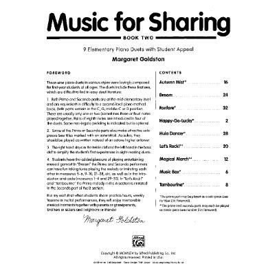 Music for sharing 2