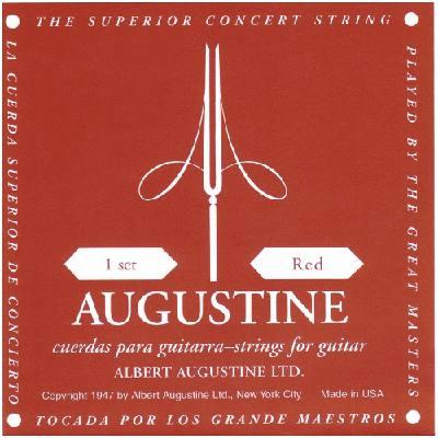 AUGUSTINE GITARREN-SAITEN ROT