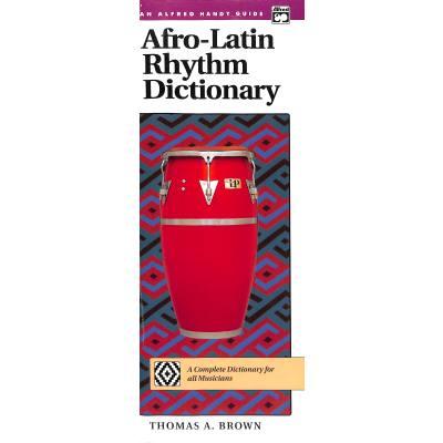 Afro Latin rhythm dictionary