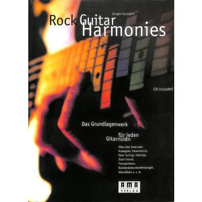 Rock guitar harmonies