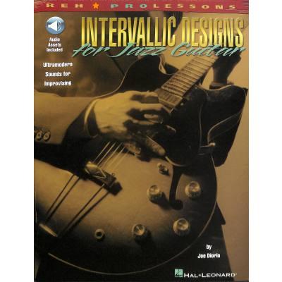 Intervallic designs for jazz guitar