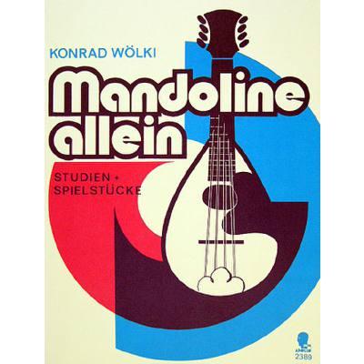 Mandoline allein