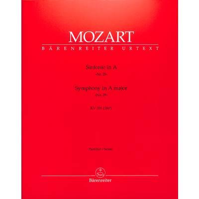 Sinfonie 29 A-Dur KV 201 (186a)