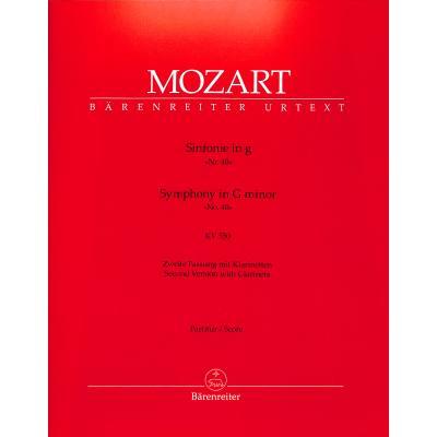 Sinfonie 40 g-moll KV 550 (Fassung 2)