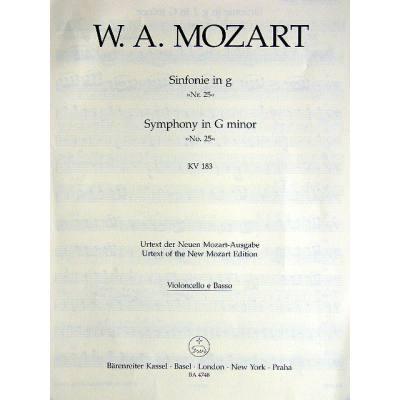 Sinfonie 25 g-moll KV 183