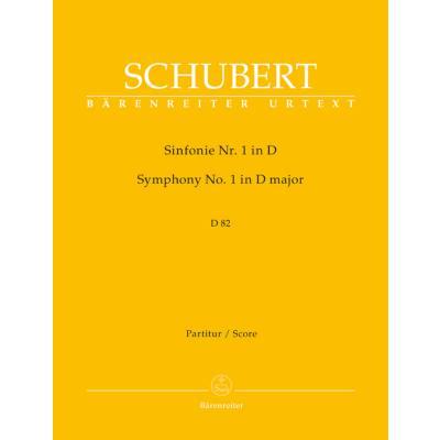 Sinfonie 1 D-Dur D 82