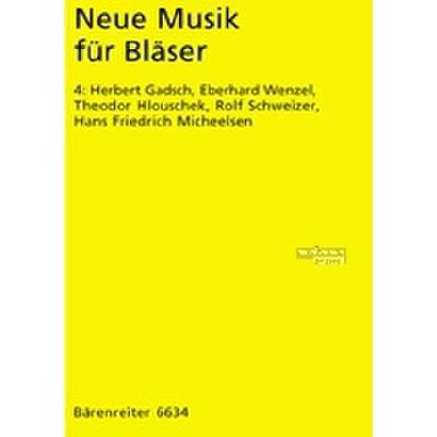 Neue Musik Fuer Blaeser 4
