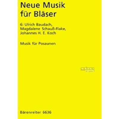 Neue Musik Fuer Blaeser 6