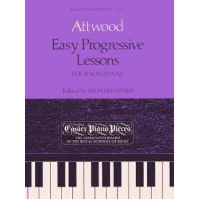 EASY PROGRESSIVE LESSONS - 4 SONATINEN