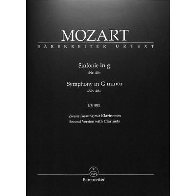 Sinfonie 40 g-moll KV 550