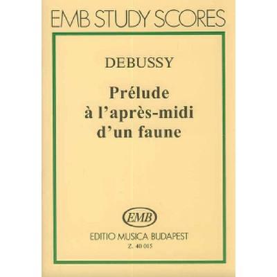 PRELUDE A L'APRES MIDI D'UN FAUNE
