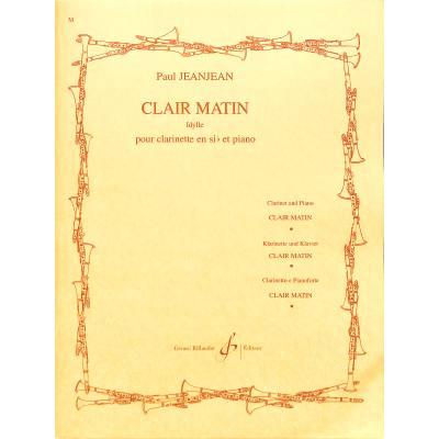 CLAIR MATIN