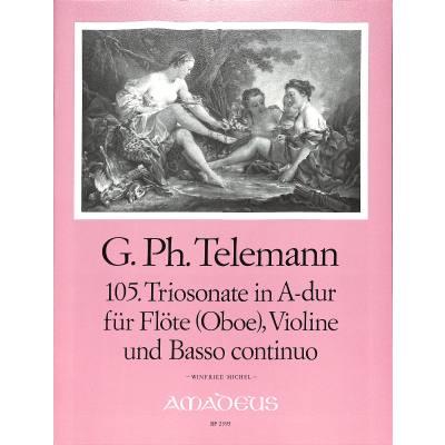 TRIOSONATE 105 A-DUR TWV 42:A7