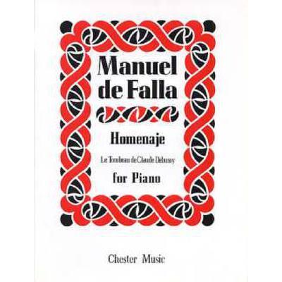 HOMENAJE (LE TOMBEAU DE DEBUSSY)