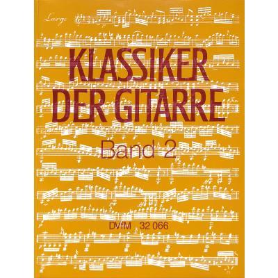 Klassiker der Gitarre 2