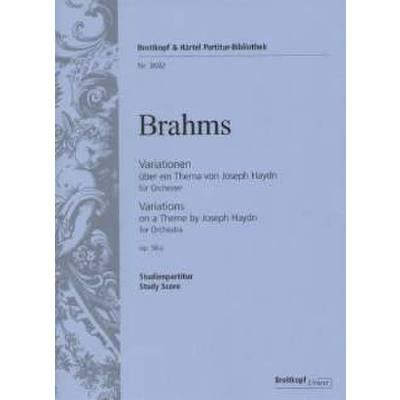 Variationen op 56a über ein Thema von Haydn