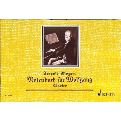 Notenbuch fuer wolfgang for Wolfgang hieber