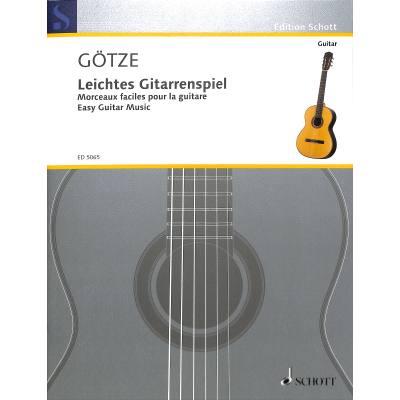 Leichtes Gitarrenspiel 1