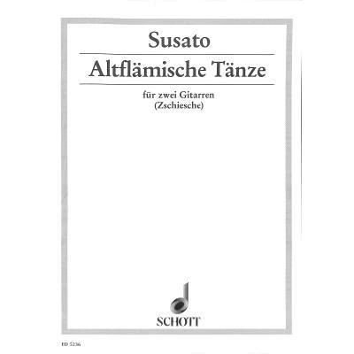 ALTFLAEMISCHE TAENZE (1551)