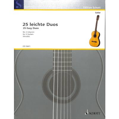 25 leichte Gitarren Duette