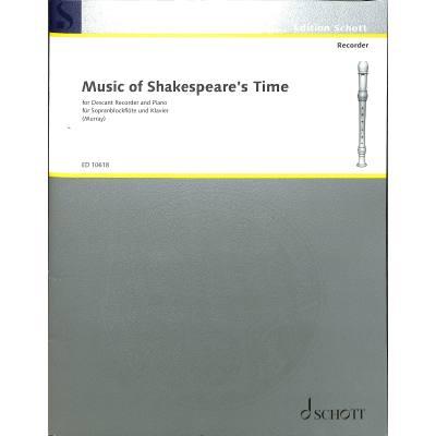 music-of-shakespeares-time, 7.50 EUR @ notenbuch-de