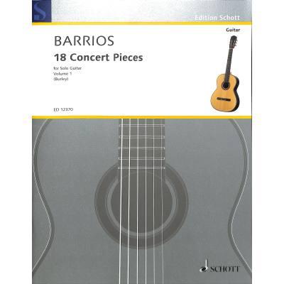 18 Concert pieces 1