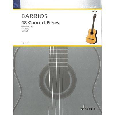 18 Concert pieces 2
