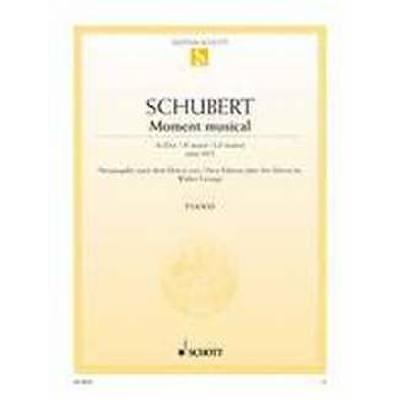 MOMENTS MUSICAUX AS-DUR OP 94/2 (D 780) - broschei