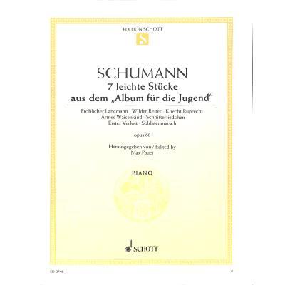 ALBUM FUER DIE JUGEND OP 68 - AUSWAHL - broschei