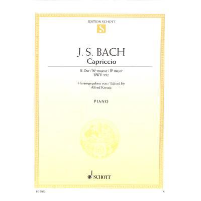 CAPRICCIO B-DUR (BWV 992) - broschei