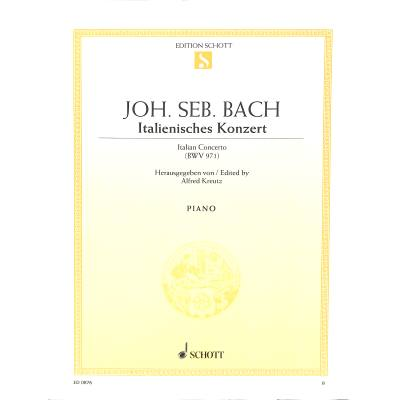 ITALIENISCHES KONZERT F-DUR BWV 971 - broschei