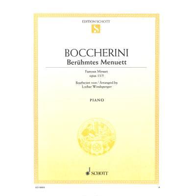 BERUEHMTES MENUETT A-DUR (AUS OP 13/5)
